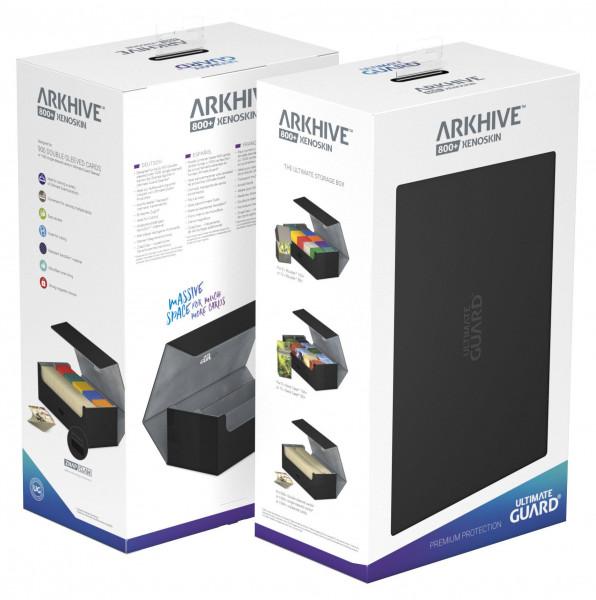 Ultimate Guard Arkhive™ 800+ Standard Size XenoSkin™ Black
