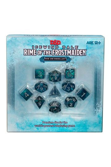 D&D - Rime of the Frostmaiden Dice Set