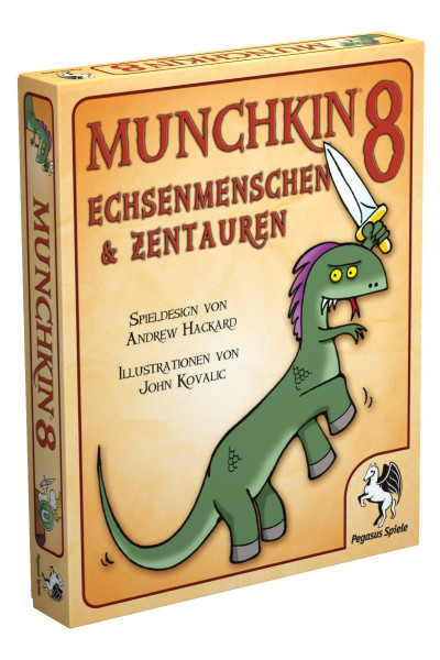 Munchkin 8: Echsenmenschen & Zentauren