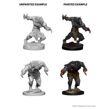 Dungeons & Dragons Nolzur`s Marvelous Unpainted Miniatures: W4 Werewolves