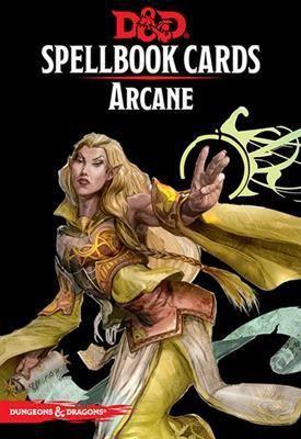 D&D RPG - Spellbook Cards: Arcane Deck