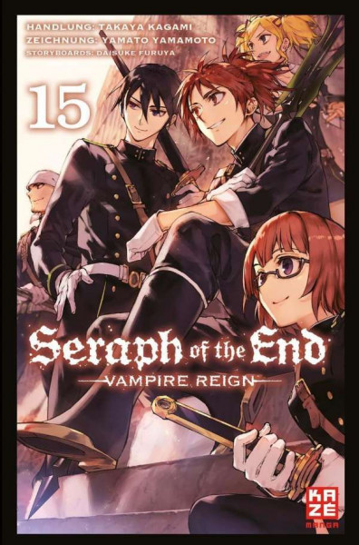 Seraph of the End - Vampire Reign 15