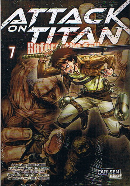 Attack on Titan - Before the Fall 07