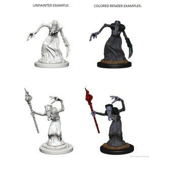 Dungeons & Dragons Nolzur`s Marvelous Unpainted Miniatures: W1 Mindflayers