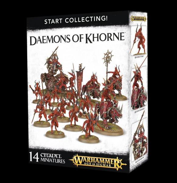 Start Collecting! Daemons Of Khorne (70-97)