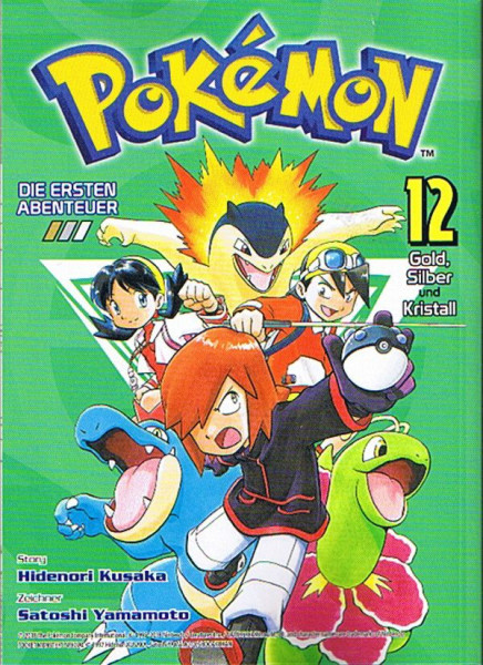 Pokemon – Die ersten Abenteuer Band 12