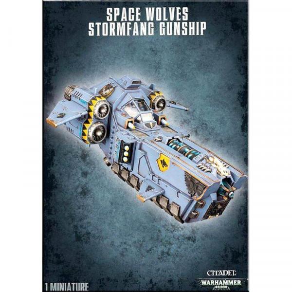 Space Wolves Stormfang Gunship (53-11)
