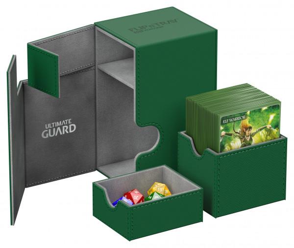 Flip´n´Tray Deck Case 80+ Standard Size XenoSkinTM Green