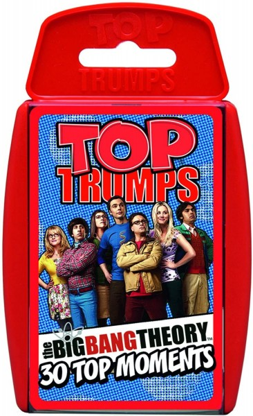 Top Trumps - The Big Bang Theory - Kartenspiel Quartett