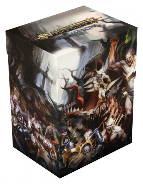 Warhammer Age of Sigmar: Champions Basic Deck Case 80+ Standardgröße Order vs. Death