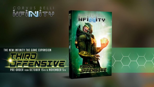Infinity - Third Offensive + Libertos Freedom Fighters (pre-order exclusive model) (Englisch)