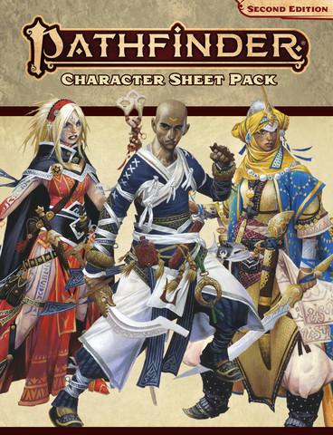 Pathfinder 2. Ed: Character Sheet Pack