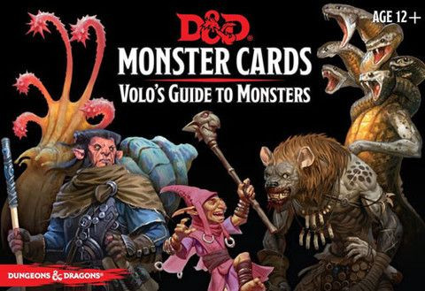 D&D RPG - Monster Cards: Volos Guide to Monsters