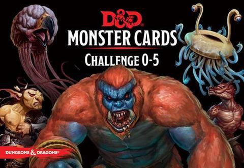 D&D RPG - Cards: Monster Deck 0-5