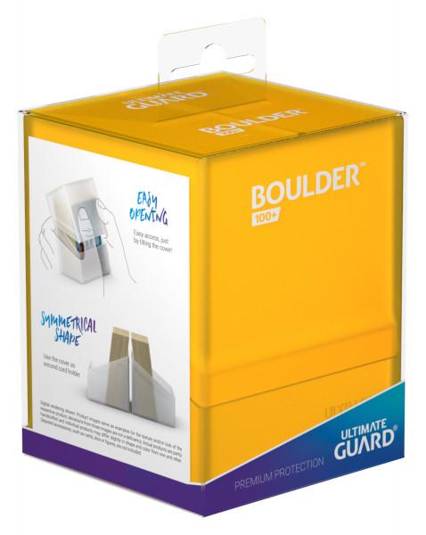 Boulder & Trade Deck Case 100+ Standardgröße Amber