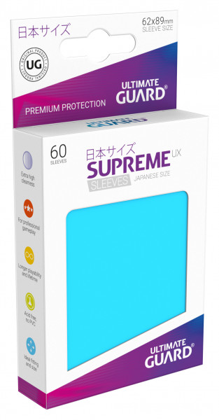 Supreme Sleeves Japan Size UX Light Blue (60)