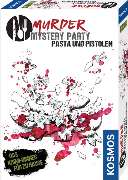 Murder Mystery Party - Pasta und Pistolen