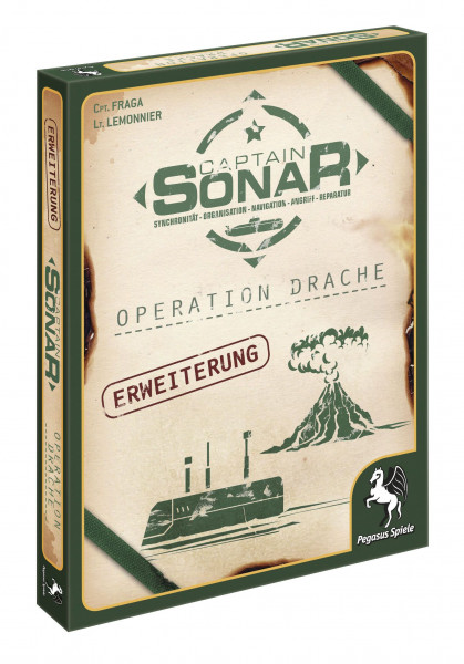 Captain Sonar - Operation Drache