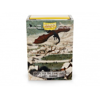 Dragon Shield Art Sleeves - Hunters in the Snow (100)