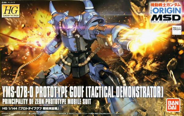 Gundam: High Grade - Prototype Gouf Tacical Demo. 1:144 Model Kit