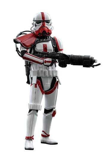 Star Wars The Mandalorian Action Figure 1/6 Incinerator Stormtrooper 30 cm