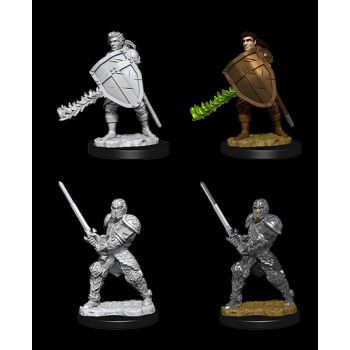 Dungeons & Dragons Nolzur`s Marvelous Unpainted Miniatures: W8 Male Human Fighter