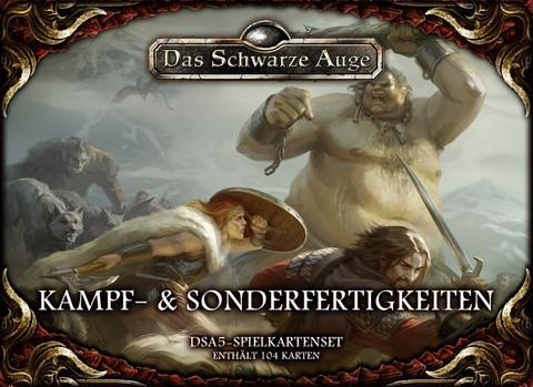 DSA5: Kampf & Sonderfertigkeiten: Kartenset