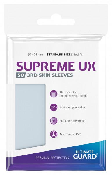 Ultimate Guard Supreme UX 3rd Skin Sleeves Standardgröße Transparent (50)