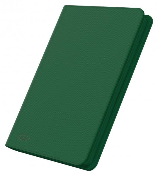 8-Pocket QuadRow ZipFolio XenoSkinTM Green