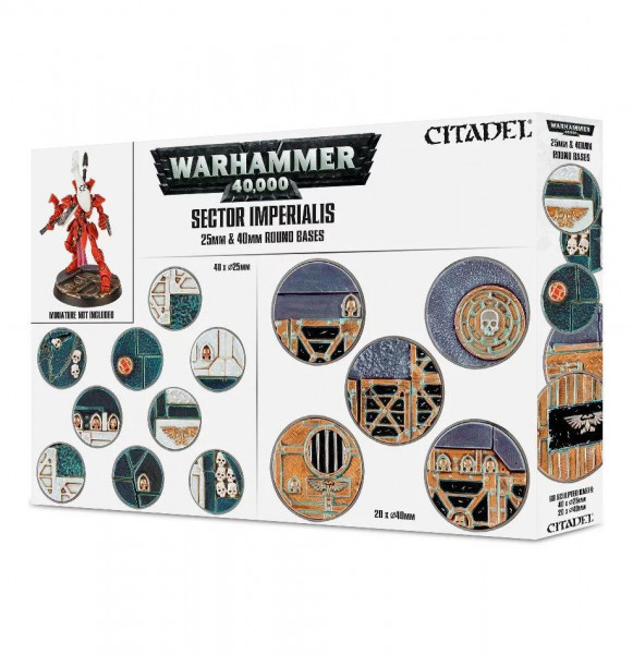 Sector Imperialis: 25 & 40mm Round Bases (66-92)