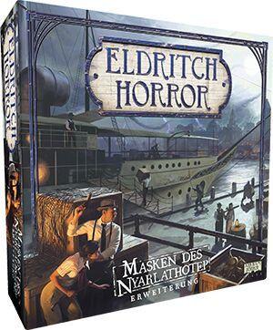 Eldritch Horror: Masken des Nyarlathotep de.