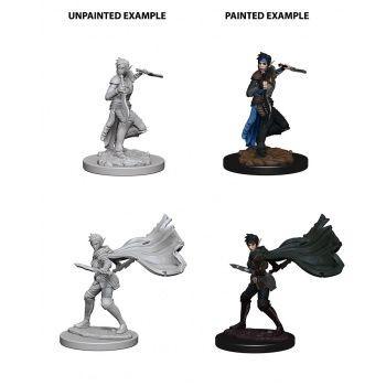 Pathfinder Deep Cuts Unpainted Miniatures: W4 Elf Female Rogue