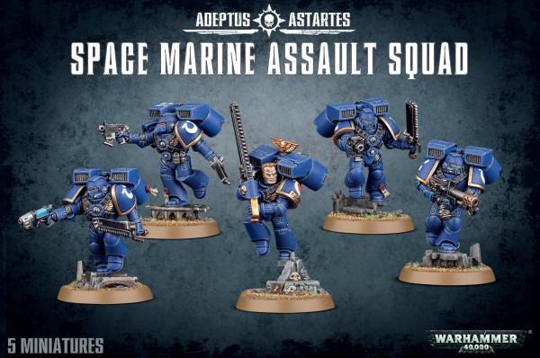 Space Marine Assault Squad (48-09)