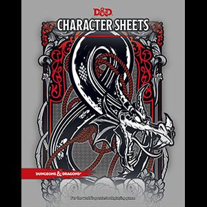 D&D RPG - Character Sheets