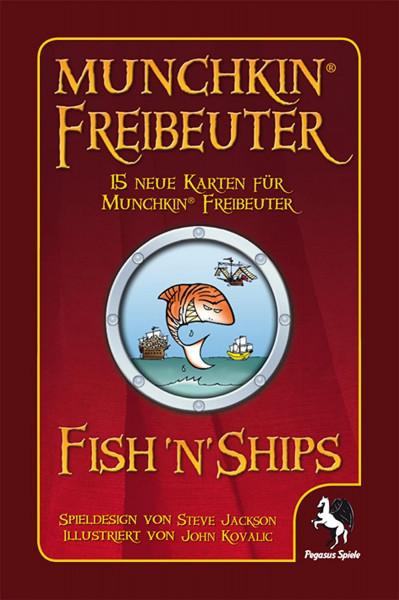 Munchkin: Fish ´n´Ships Freibeutererweiterung