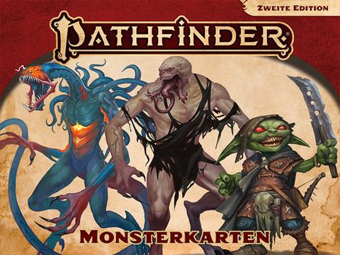 Pathfinder 2. Edition - Monsterkarten
