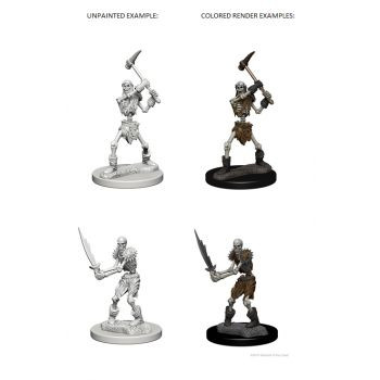 Dungeons & Dragons Nolzur`s Marvelous Unpainted Miniatures: W1 Skeletons