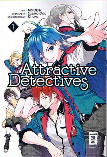 Attractive Detectives 01
