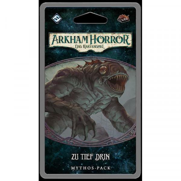 Arkham Horror: LCG - Zu tief drin ? Mythos-Pack (Innsmouth-1) DE