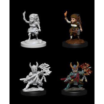 Dungeons & Dragons Nolzur`s Marvelous Unpainted Miniatures: W6 Female Halfling Fighter