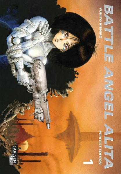 Battle Angel Alita Perfect Edition 01