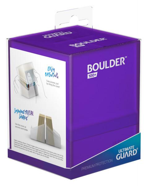 Boulder & Trade Deck Case 100+ Standardgröße Amethyst