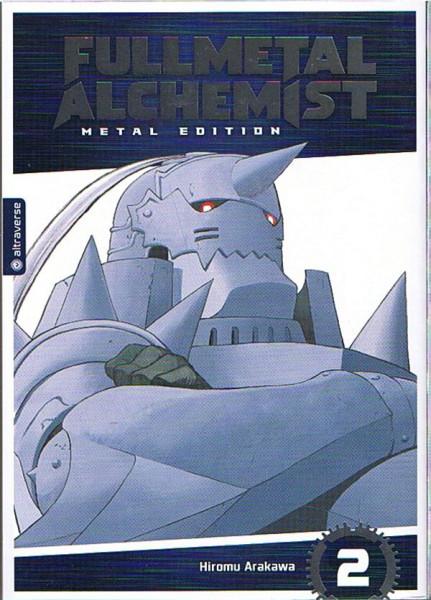 Fullmetal Alchemist  - Metal Edition - 02