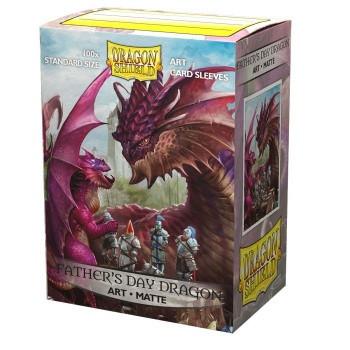Dragon Shield Art Sleeves - Father Day Dragon 2020 (100)