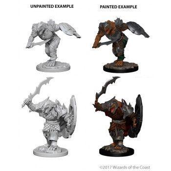 Dungeons & Dragons Nolzur`s Marvelous Unpainted Miniatures: W4 Dragonborn Male Fighter
