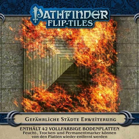 Pathfinder Flip-Tiles: Gefährliche Städte-Erweiterungssatz