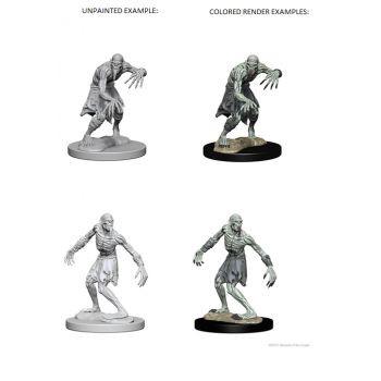 Dungeons & Dragons Nolzur`s Marvelous Unpainted Miniatures: W1 Ghouls