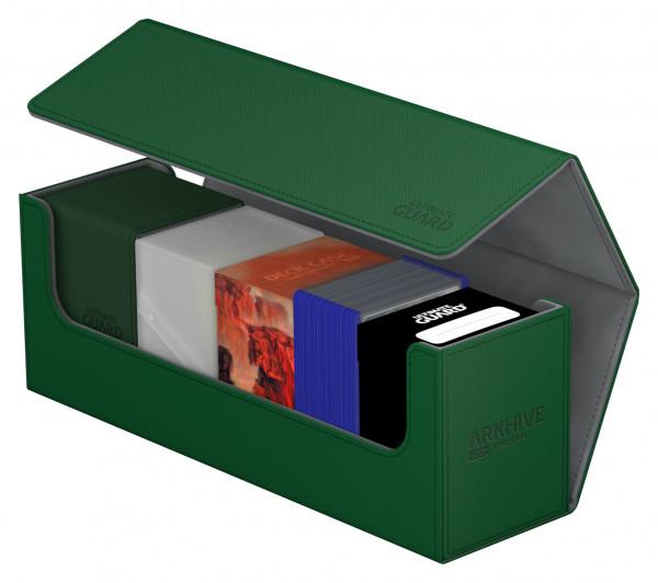 Flip Deck Case 400+ Arkhive Standard Size XenoSkin&trade Green