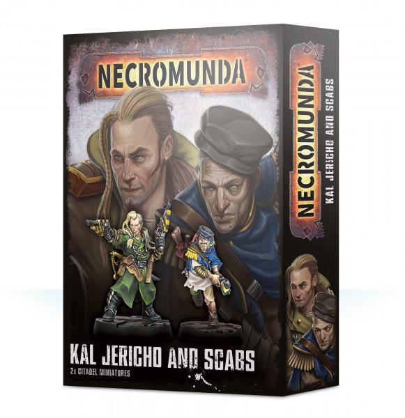 Necromunda Kal Jericho And Scabs (300-38)