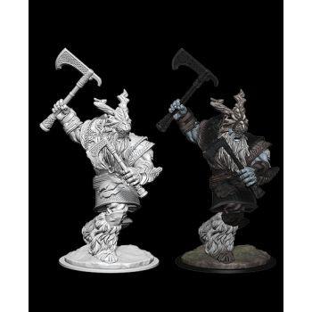 Dungeons & Dragons Nolzur`s Marvelous Unpainted Miniatures: W6 Frost Giant Male